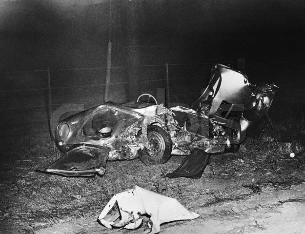 Fatal Car Wreck of James Dean