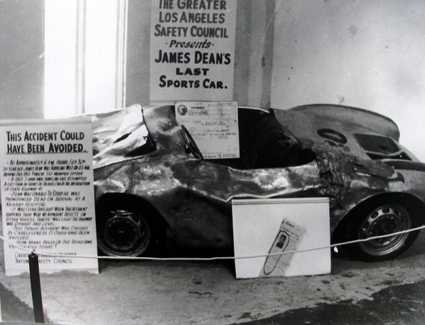james dean porsche exhibicion