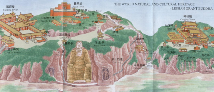 leshan china lugares turisticos sichuan
