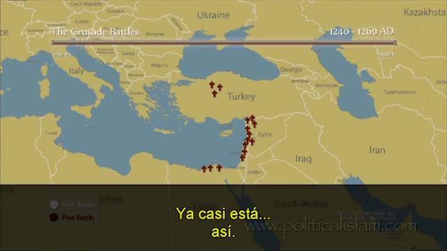 mapa conflictos cruzadas