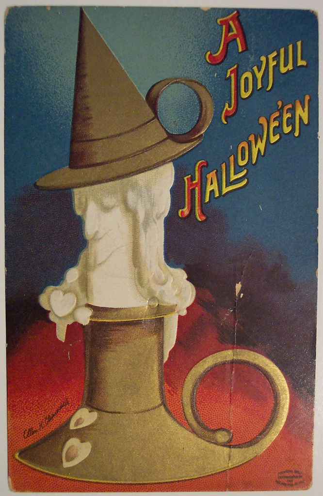 postales vintage Halloween 01