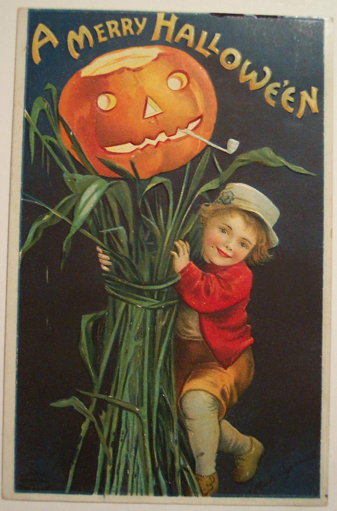 postales vintage Halloween 02