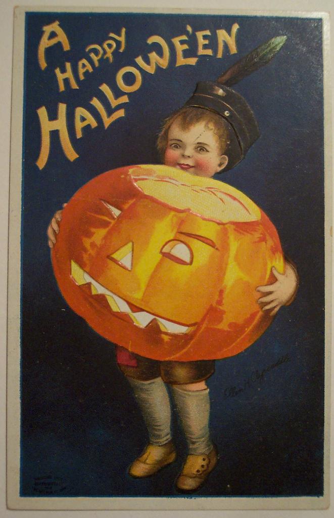 postales vintage Halloween 03