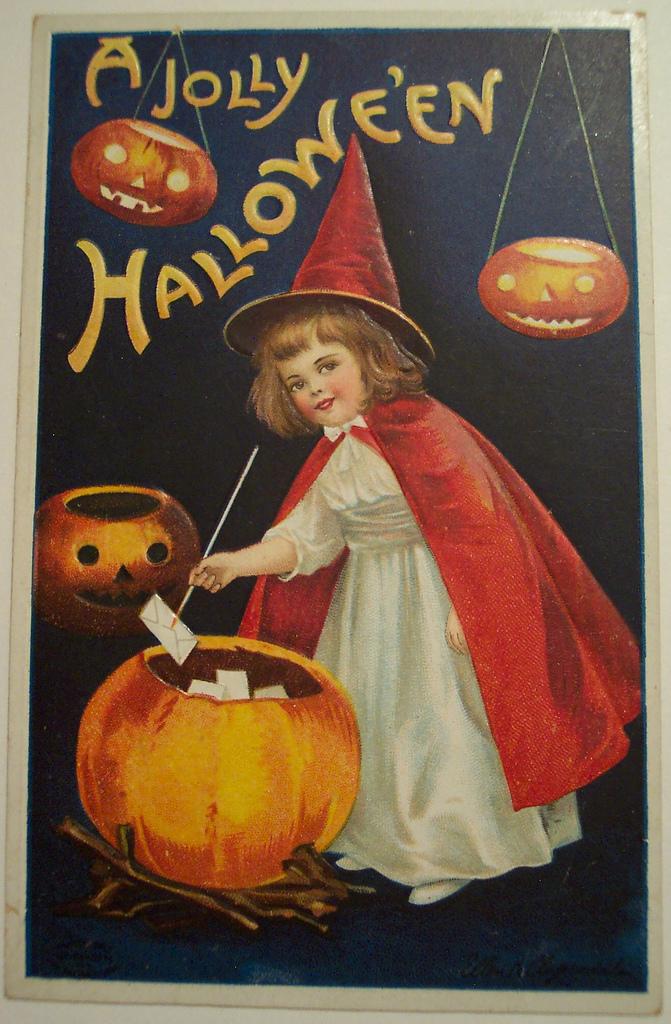 postales vintage Halloween 04