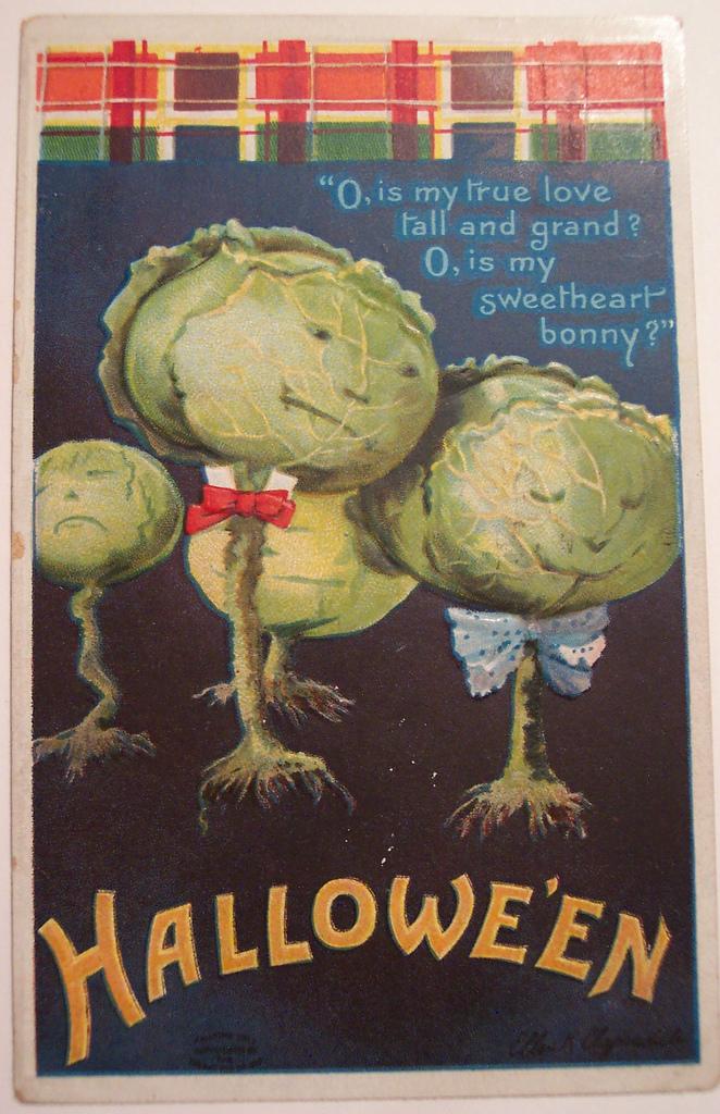 postales vintage Halloween 06