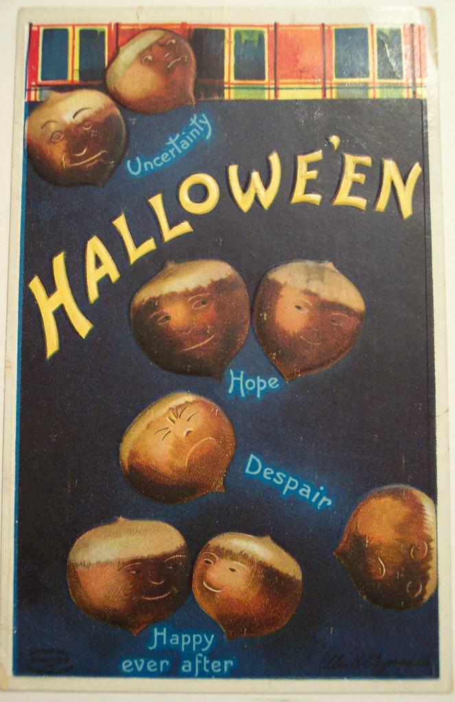 postales vintage Halloween 07