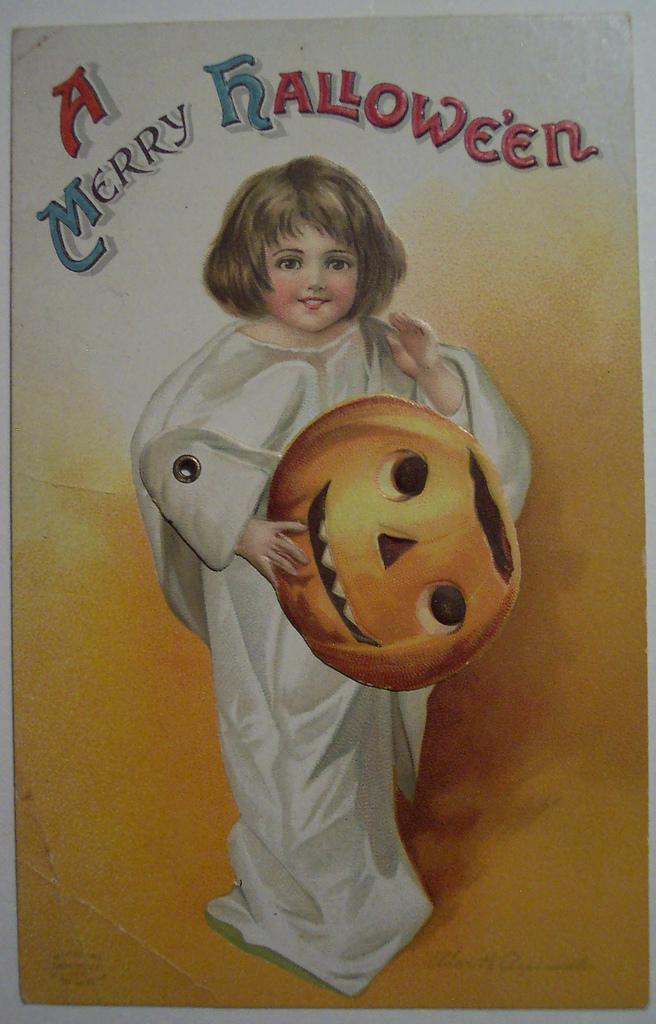 postales vintage Halloween 13