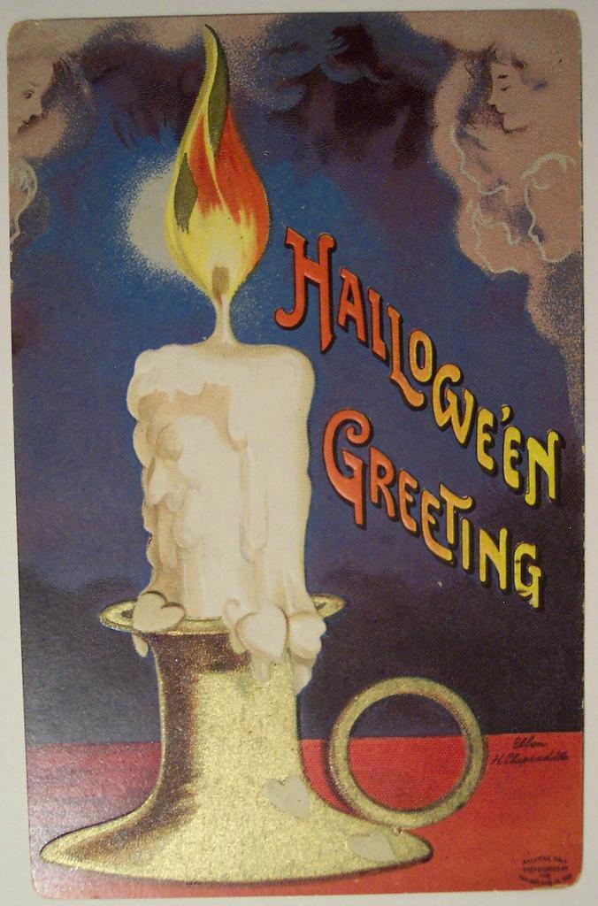 postales vintage Halloween 14