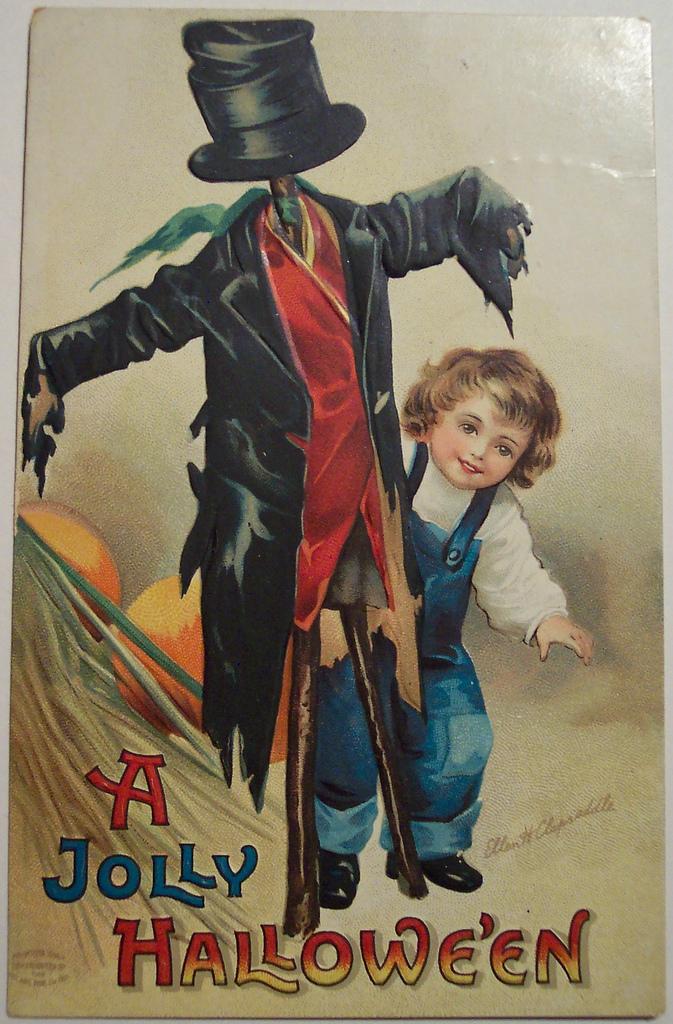 postales vintage Halloween 20