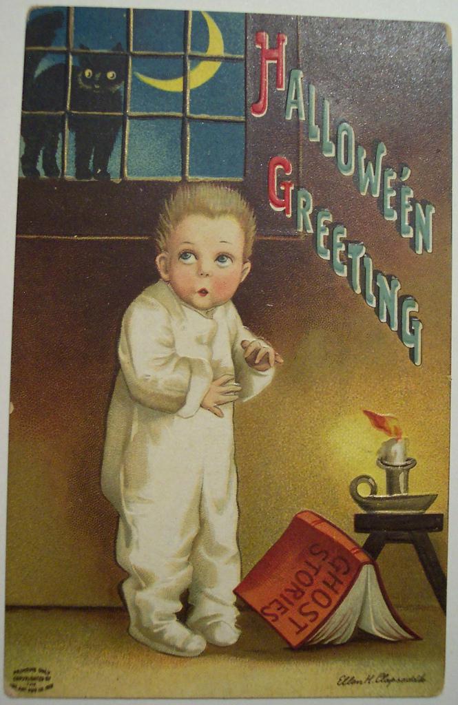 postales vintage Halloween 21