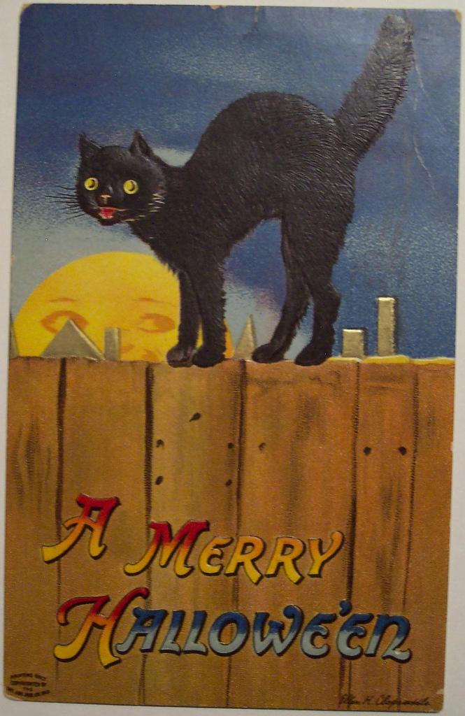 postales vintage Halloween 23