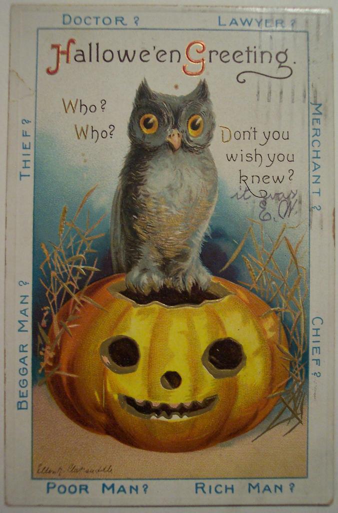 postales vintage Halloween 28