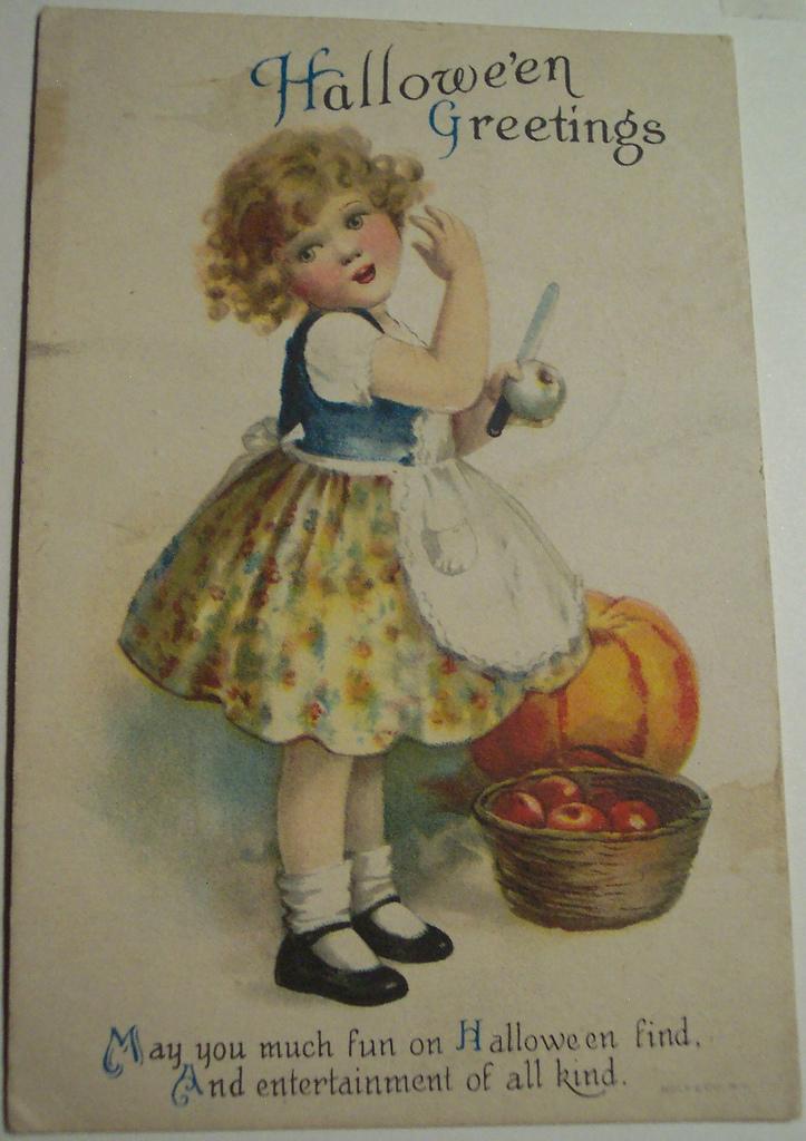 postales vintage Halloween 32
