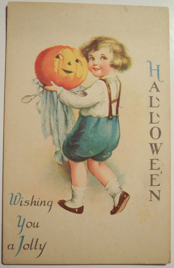 postales vintage Halloween 40