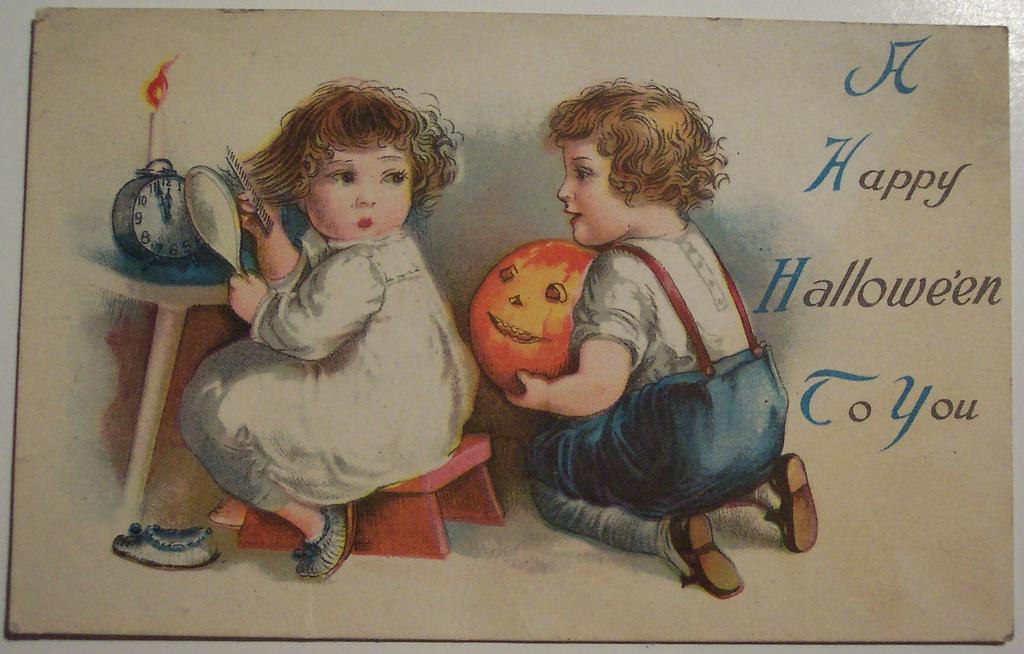 postales vintage Halloween 42