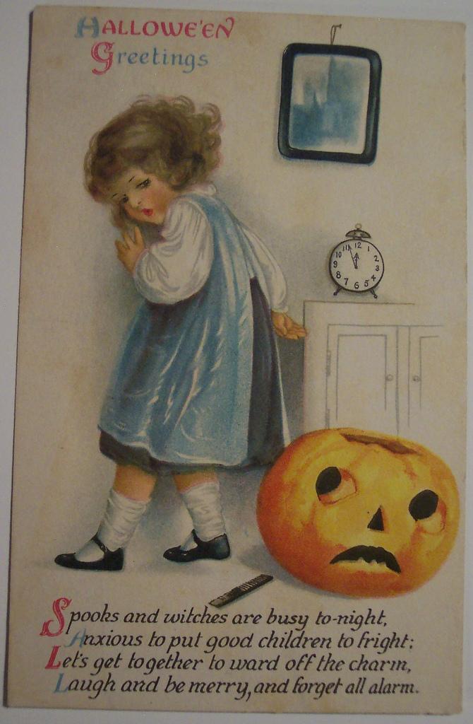 postales vintage Halloween 46