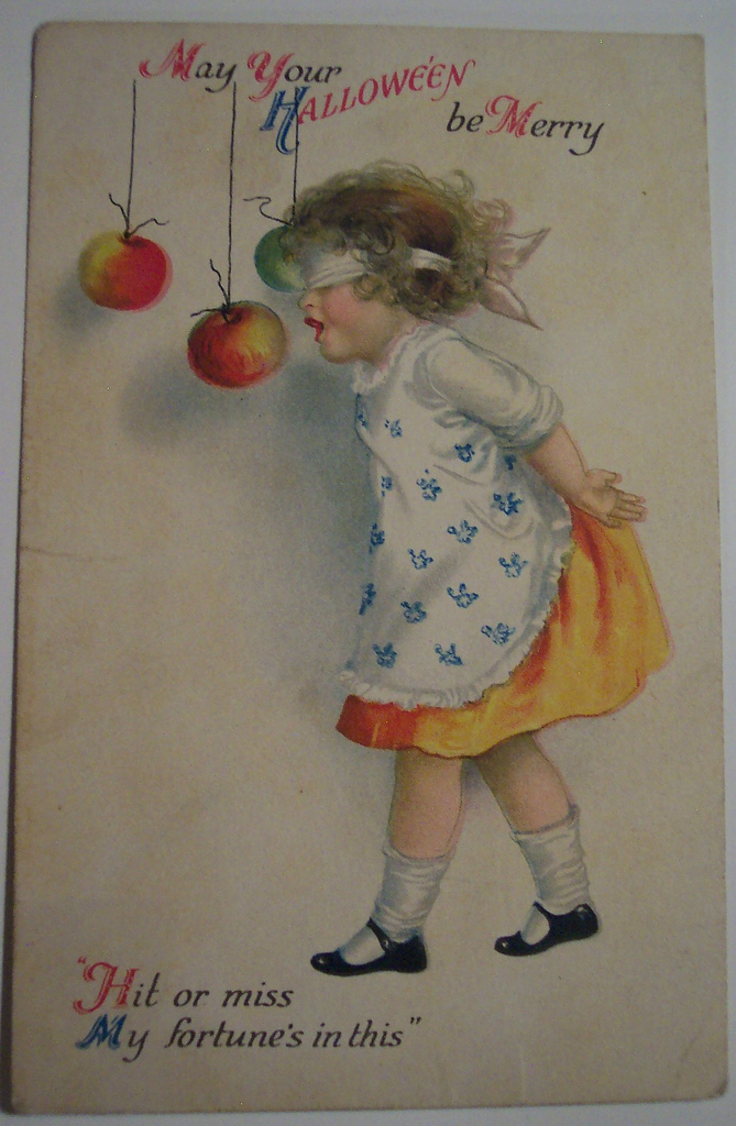 postales vintage Halloween 47