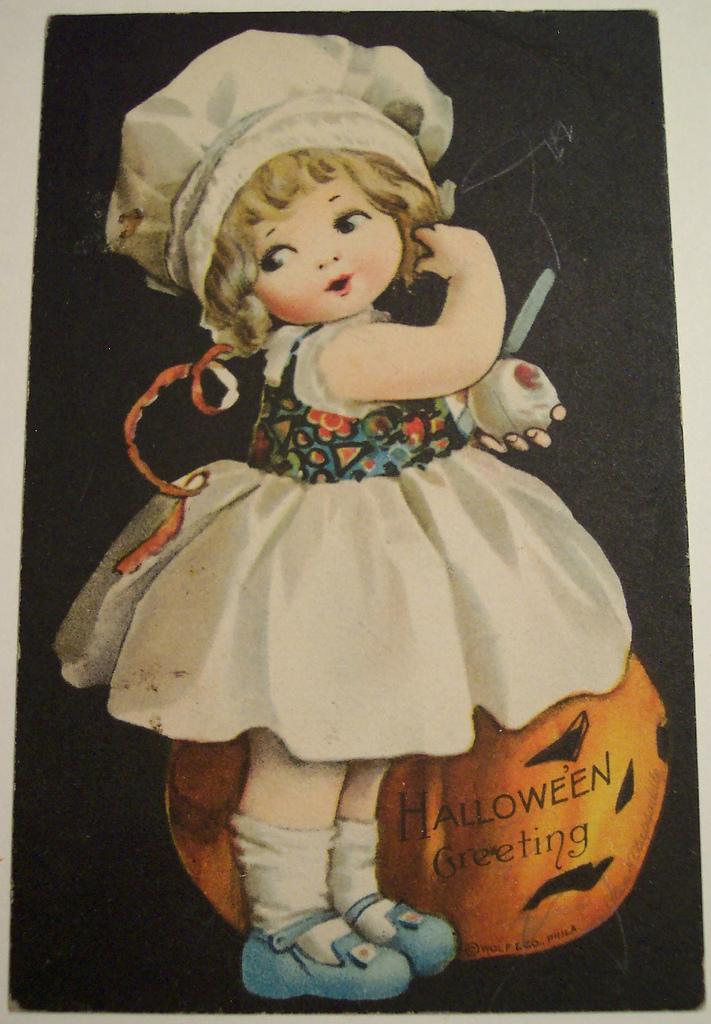postales vintage Halloween 49