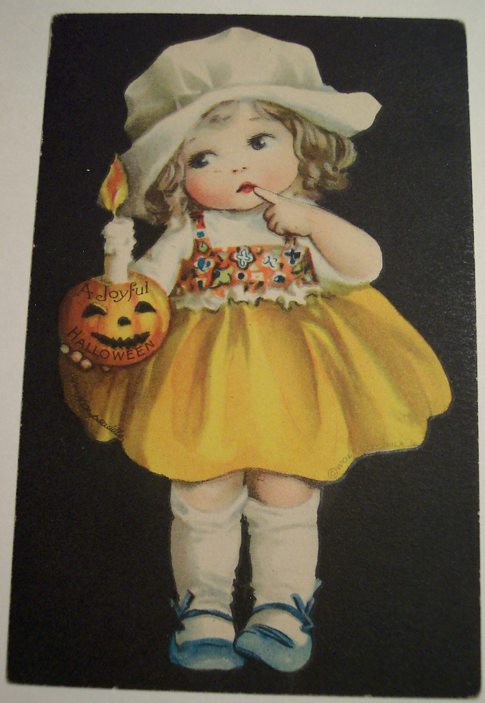 postales vintage Halloween 50