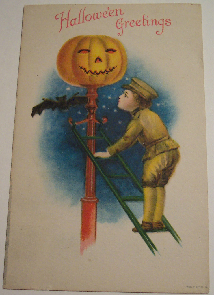 postales vintage Halloween 53