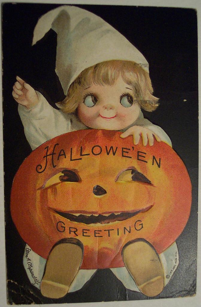 postales vintage Halloween 57