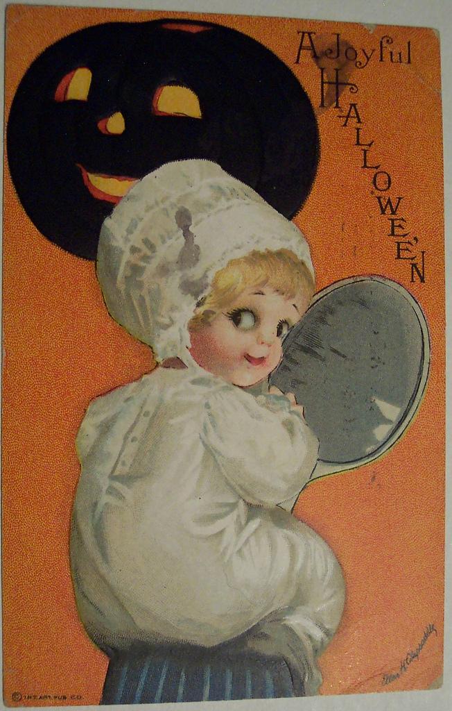 postales vintage Halloween 59
