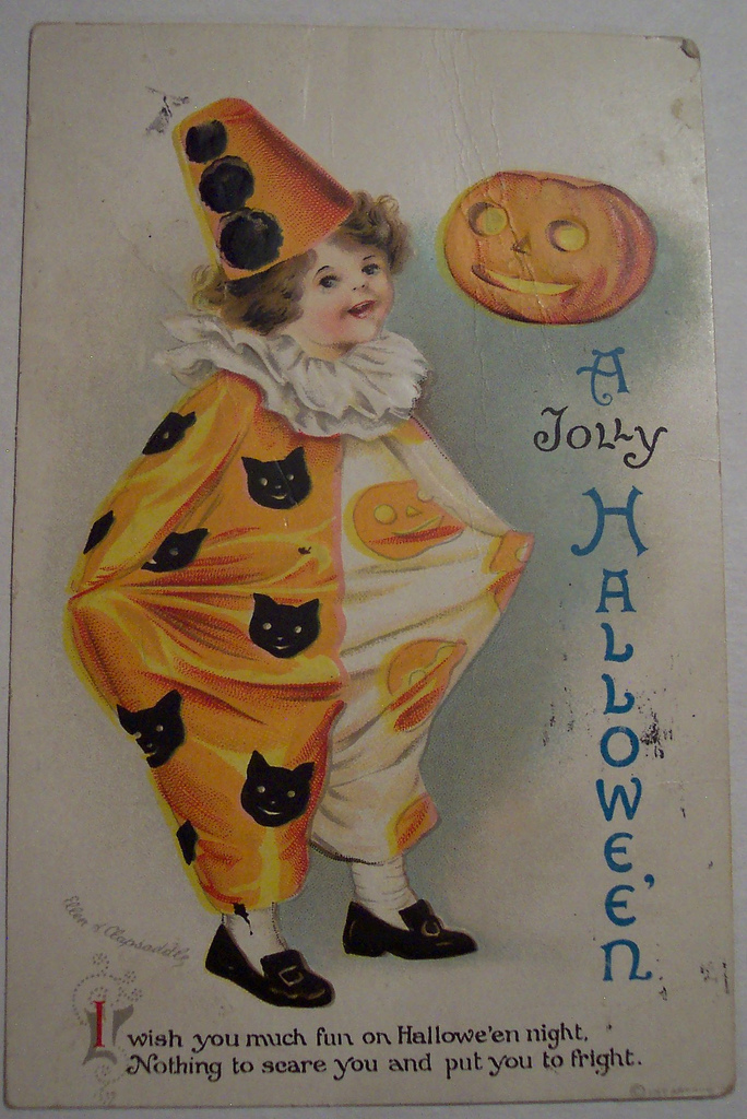 postales vintage Halloween 60
