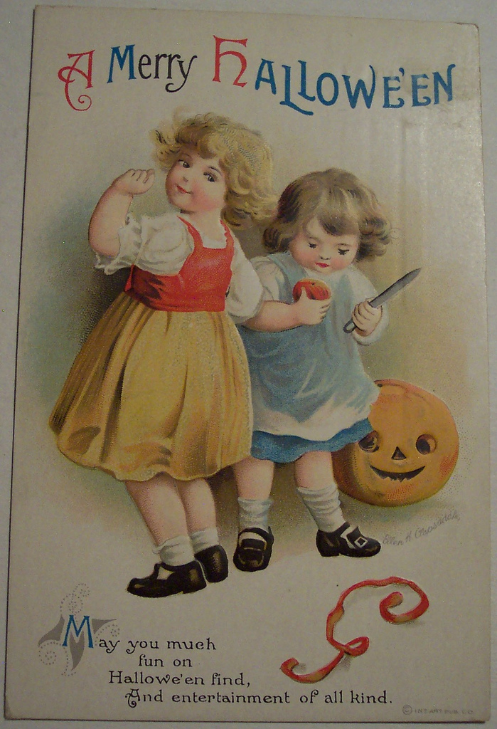 postales vintage Halloween 61