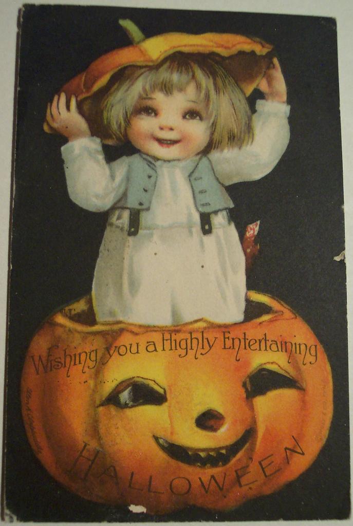 postales vintage Halloween 62