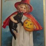 Postales vintage de Halloween