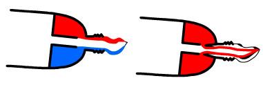 sistema pasta dentifrica rayas lineas