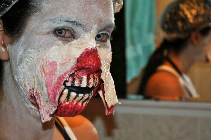 traje disfraz maquillaje zombie 1