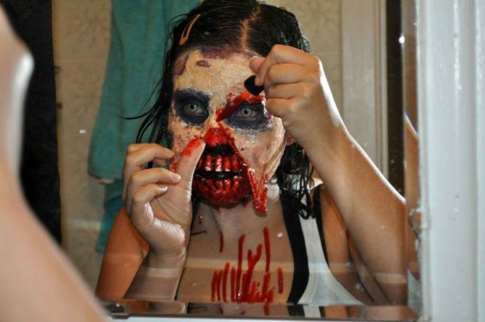 traje disfraz maquillaje zombie 3