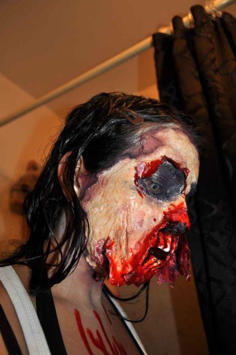 traje disfraz maquillaje zombie 4