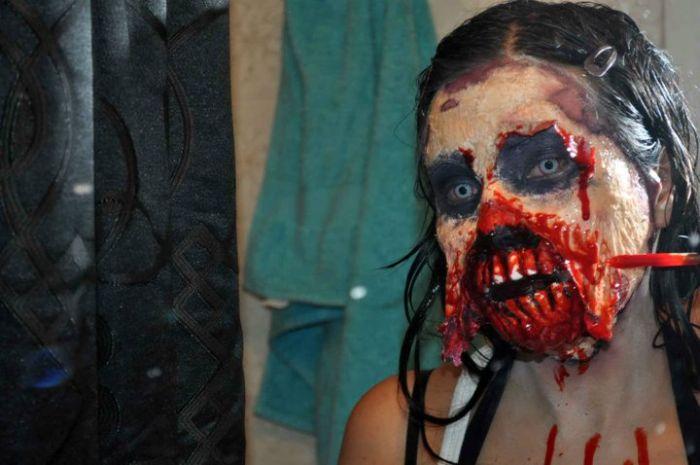 traje disfraz maquillaje zombie 5