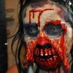 Disfraz de zombie sangriento