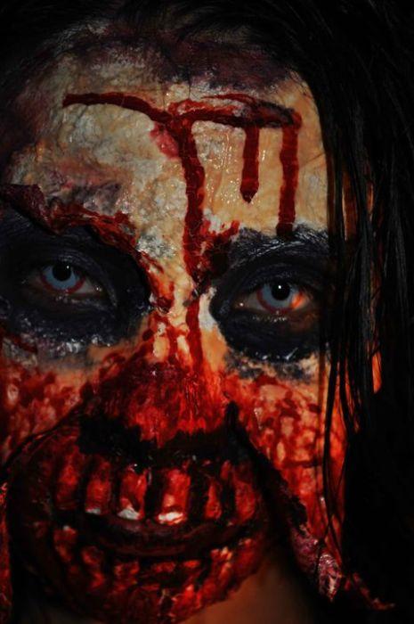 traje disfraz maquillaje zombie 8