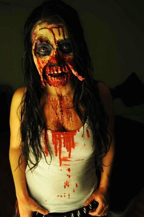 traje disfraz maquillaje zombie 9