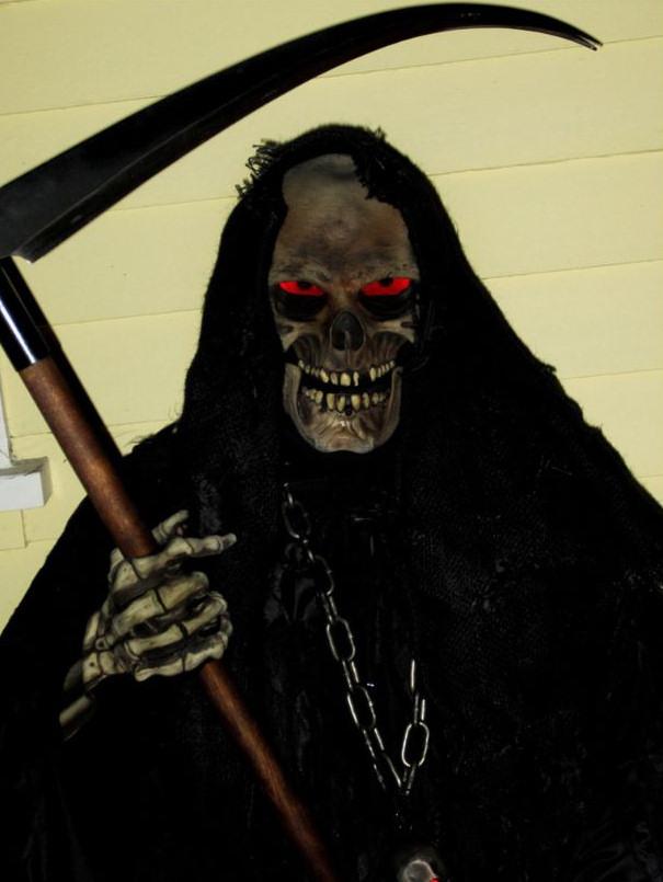 traje disfraz muerte parca halloween 15