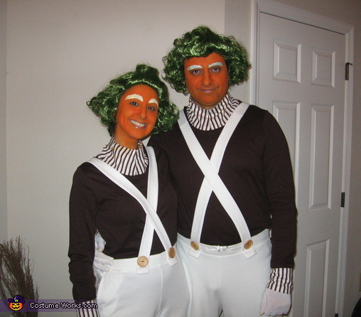 trajes halloween Umpa Lumpa