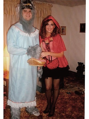 trajes halloween caperucita lobo