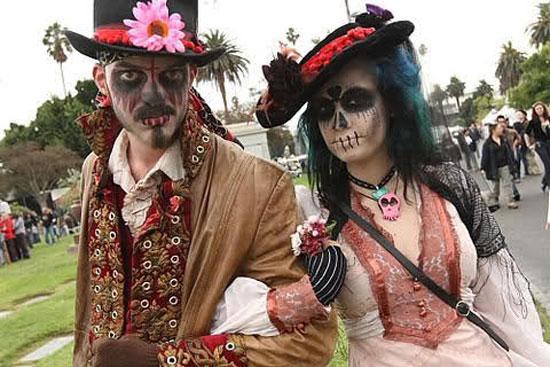 trajes halloween dia muertos