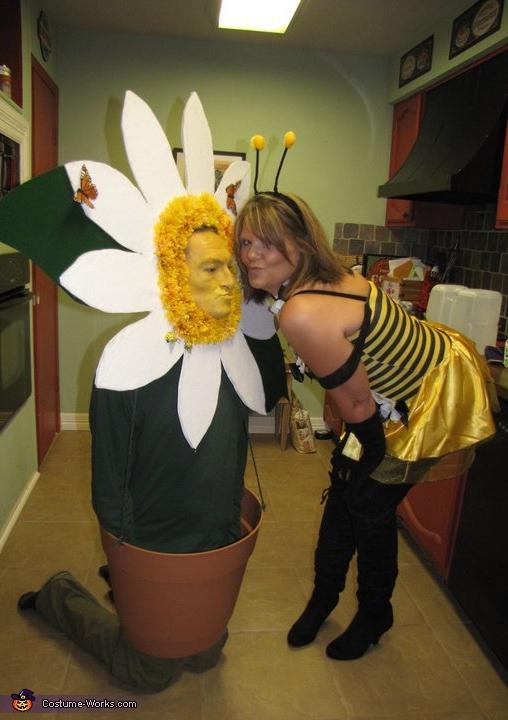 trajes halloween flor abeja