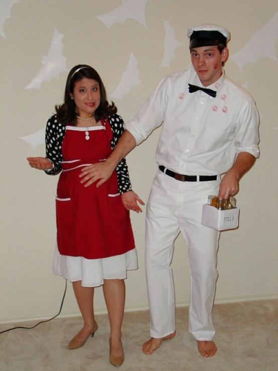trajes halloween fue el lechero
