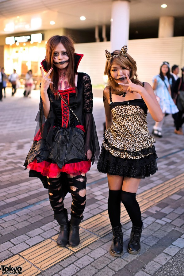 trajes halloween japon tokio 09