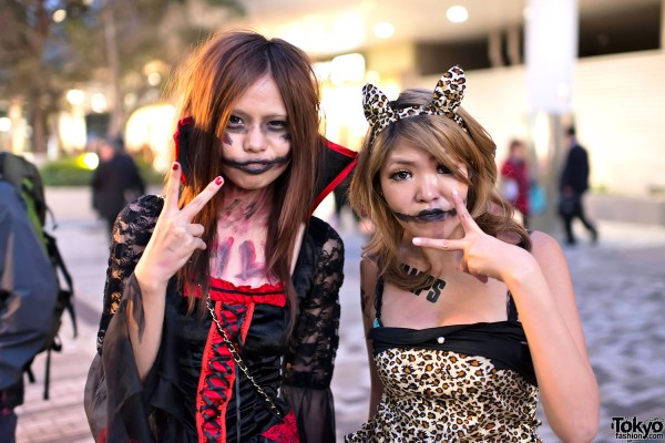 trajes halloween japon tokio 10