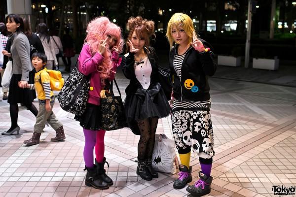trajes halloween japon tokio 23