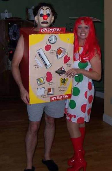 trajes halloween juego operacion