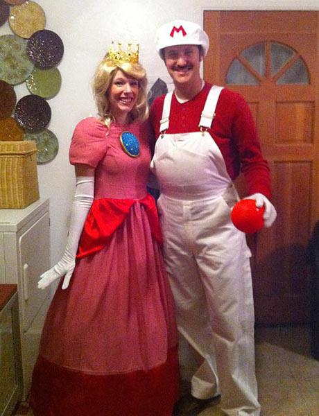 trajes halloween mario princesa