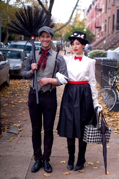 trajes halloween mary poppins bert